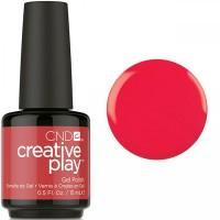 Гель-лак CND Creative Play Hottie Tomattie #453 (томатно-красный, эмаль), 15 мл