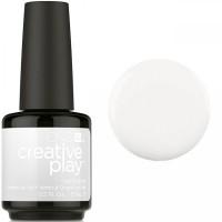 Гель-лак CND Creative Play I Blanked Out #452 (белый, эмаль), 15 мл