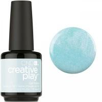 Гель-лак CND Creative Play Isle Never Let Go #436 (нежно-голубой с розовыми микроблёстками), 15 мл