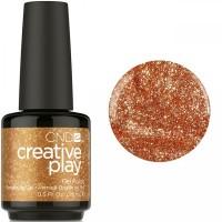 Гель-лак CND Creative Play Lost In Spice #420 (бронзовый, микроблеск с перламутром), 15 мл