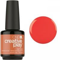 Гель-лак CND Creative Play Mango About Town #422 (красно-оранжевый, эмаль), 15 мл