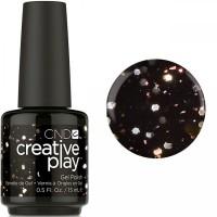 Гель-лак CND Creative Play Nocturne If Up #450 (чёрный шоколад с блёстками), 15 мл