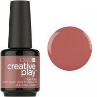 Гель-лак CND Creative Play Nuttin To Wear #418 (бежево-коричневый, эмаль), 15 мл
