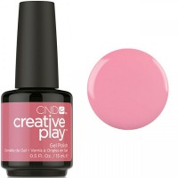 Гель-лак CND Creative Play Oh Flamingo #404 (лососево-розовый, эмаль), 15 мл