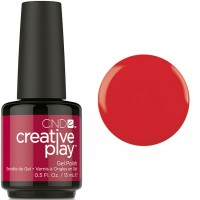Гель-лак CND Creative Play On A Dare #413 (алый, эмаль), 15 мл