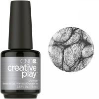 Гель-лак CND Creative Play Polish My Act #446 (серебристый металлик), 15 мл
