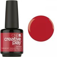 Гель-лак CND Creative Play Red Y To Roll #412 (кровавый, эмаль), 15 мл