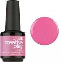 Гель-лак CND Creative Play Sexy I Know It #407 (яркий розовый, эмаль), 15 мл