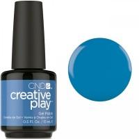 Гель-лак CND Creative Play Skinny Jeans #437 (тёмно-голубой, эмаль), 15 мл