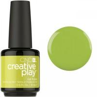 Гель-лак CND Creative Play Toe The Lime #427 (оливковый, эмаль), 15 мл