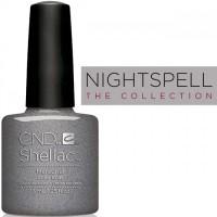 Гель-лак CND Shellac Mercurial (серебристо-серый с шиммером), 7,3 мл