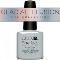 Гель-лак CND Shellac Mystic Slate (сине-серый, сизый, светлый, эмаль), 7,3 мл