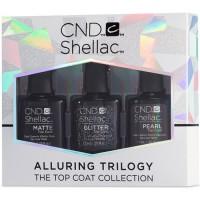 Набор закрепителей CND Shellac Alluring Trilogy