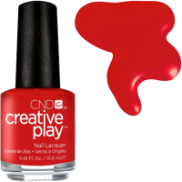 Лак CND Creative Play #412 Red-Y To Roll 13,6 мл