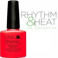 Гель-лак CND Shellac Mambo Beat (ярко-красный, эмаль), 7,3 мл
