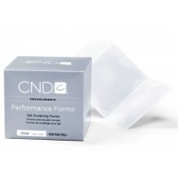 Формы прозрачные CND Sculpting Performance Forms Clear (300 шт)