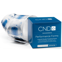 Формы для моделирования CND Sculpting Performance Forms Silver (300 шт)