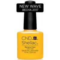 Гель-лак CND Shellac Banana Clips (насыщенно-жёлтый, эмаль), 7,3 мл