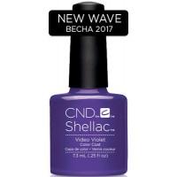 Гель-лак CND Shellac Video Violet (насыщенно-сиреневый, эмаль), 7,3 мл