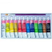 Набор акриловых красок BASICS 12 штук