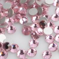 Стразы для ногтей Lt Pink 100 шт размер SS5 цвет P30
