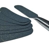 Металлические основы для пилки и сменные файлы к ним для педикюра Kodi Professional