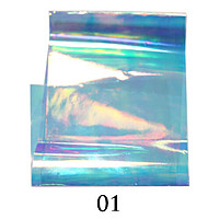 Фольга битое стекло № 01
