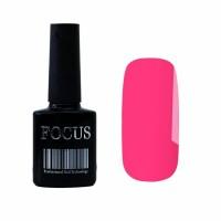 Гель-лак FOCUS premium №012 (розовый неоновый, эмаль), 8 мл