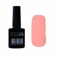 Гель-лак FOCUS premium №014 (розово-лососевый, эмаль), 8 мл