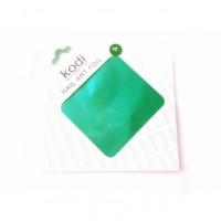 Фольга для литья KODI №4 (карибский зеленый)