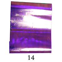 Фольга битое стекло № 14