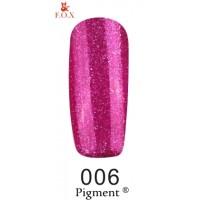 Гель-лак F.O.X Pigment ® №006, 6 мл