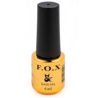 F.O.X Base  - базовое покрытие для ногтей, 6 мл