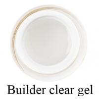 Моделирующий 3-фазный гель F.O.X Builder gel Clear (прозрачный) UV 50 мл