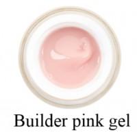 Моделирующий 3-фазный гель F.O.X Builder gel Pink (розовый) UV 50 мл