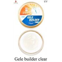 Моделирующий гель-желе F.O.X Gele builder gel Clear (прозрачный)  UV 15 мл