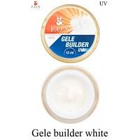 Моделирующий гель-желе F.O.X Gele builder gel White (белый)  UV 15 мл