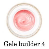 Моделирующий гель-желе F.O.X Gele builder gel Pink 04 (розовый насыщенный) UV 50 мл