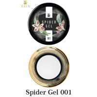Гель-паутинка для дизайна ногтей Spider Gel 001 (белый) F.O.X, 5 мл