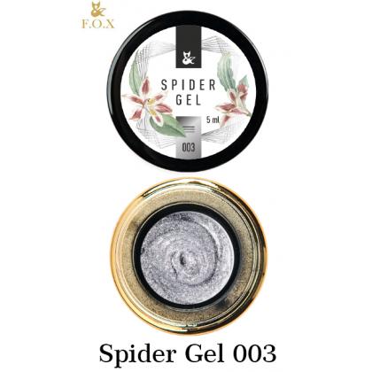 Закажите Spider Gel 003 F.O.X и получите 5% бонусов от суммы для оплаты следующего заказа