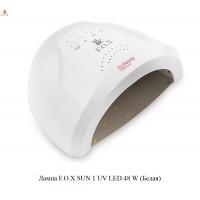 Светодиодная LED/UV лампа F.O.X SUN ONE 48W Цвет Белый