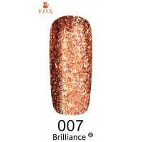 Гель-лак F.O.X Brilliance ® №007, 6 мл