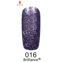 Гель-лак F.O.X Brilliance ® №016, 6 мл