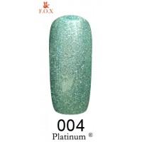 Гель-лак F.O.X Platinum ® №004, 6 мл