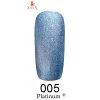 Гель-лак F.O.X Platinum ® №005, 6 мл