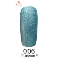 Гель-лак F.O.X Platinum ® №006, 6 мл