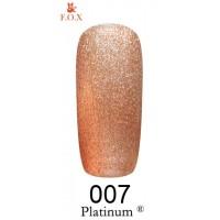 Гель-лак F.O.X Platinum ® №007, 6 мл