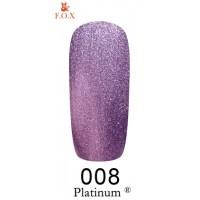 Гель-лак F.O.X Platinum ® №008, 6 мл