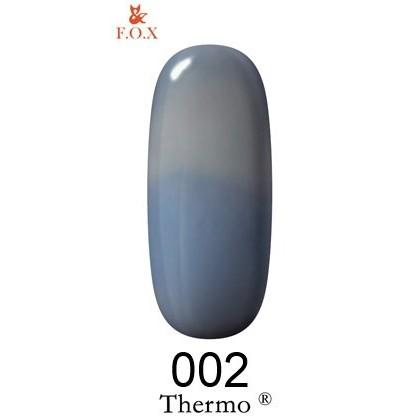 Закажите Гель-лак F.O.X Thermo ® №002, 6 мл и получите 5% бонусов от суммы для оплаты следующего заказа