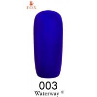 Гель-лак F.O.X Waterway ® №003, 6 мл